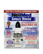 SINUS RINSE KIT Zestaw podstawowy do płukania dla dorosłych z butelką - 240 ml + 60 sasz. - Apteka internetowa Melissa