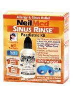 SINUS RINSE PEDIATRIC KIT Zestaw podstawowy do płukania dla dzieci z butelką - 120 ml + 60 sasz.  - Apteka internetowa Melissa