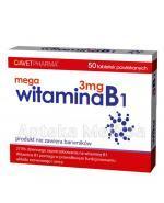 MEGA WITAMINA B1 3 mg - 50 tabl. - Apteka internetowa Melissa