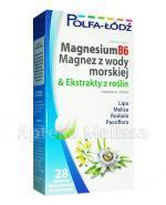MAGNESIUM B6 Magnez z wody morskiej & ekstrakty z roślin - 28 tabl. - Apteka internetowa Melissa