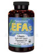 SWANSON Flaxseed Oil Omega 3-6-9 1000 mg - 200 kaps. - Apteka internetowa Melissa