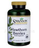 SWANSON Głóg owoce 565 mg - 250 kaps. - Apteka internetowa Melissa