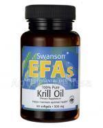 SWANSON Krill Oil - 60 kaps. - Apteka internetowa Melissa