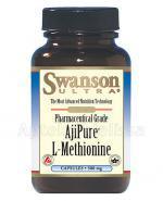 SWANSON AjiPure L-Metionina 500 mg - 60 kaps. - Apteka internetowa Melissa