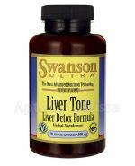 SWANSON Liver Tone (Liver Detox Formula) 300 mg - 120 kaps. - Apteka internetowa Melissa