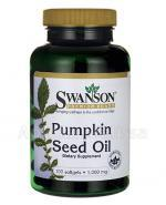 SWANSON Pumpkin Seed Oil 1000 mg - 100 kaps. - Apteka internetowa Melissa