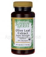 SWANSON Olive Leaf 750 mg - 60 kaps. - Apteka internetowa Melissa