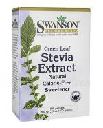 SWANSON Stevia Extract - 100 sasz. - Apteka internetowa Melissa