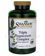 SWANSON Triple Magnesium Complex - 300 kaps. - Apteka internetowa Melissa