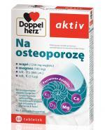 DOPPELHERZ AKTIV Na osteoporozę - 60 tabl. - Apteka internetowa Melissa