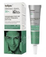 TOŁPA DERMO MEN 30+ Energizujący krem-żel przeciw zmęczeniu pod oczy - 10 ml - Apteka internetowa Melissa