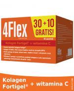 4FLEX Kolagen nowej generacji - 30 sasz.+ 10 sasz. Dla dobrej kondycji aparatu ruchu.