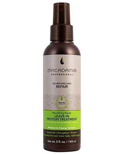 Macadamia Professional Leave - In Intensywna proteinowa kuracja do włosów zniszczonych i matowych - 148 ml - cena, opinie, wskazania - Drogeria Melissa