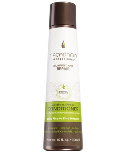 Macadamia Professional Weightless Nawilżająca odżywka do włosów cienkich - 300 ml - cena, opinie, właściwości