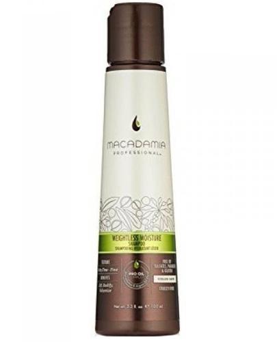 Macadamia Professional Weightless Nawilżający szampon do włosów cienkich - 100 ml - cena, opinie, właściwości