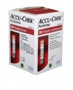 ACCU-CHEK PERFORMA Paski testowe do glukometru - 50 sztuk - Apteka internetowa Melissa