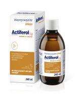 ACTIFEROL FE 10 mg smak truskawkowy - 240 ml - Apteka internetowa Melissa