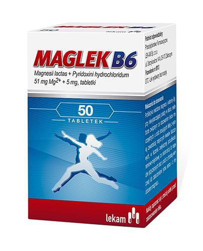 MAGLEK B6 - 50 tabl. - Apteka internetowa Melissa