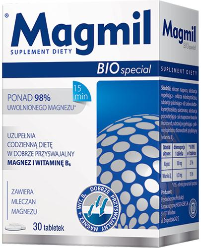 MAGMIL BIO SPECIAL - 30 tabl. - Apteka internetowa Melissa