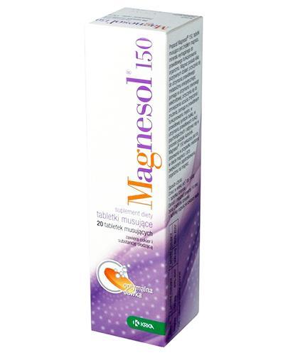 MAGNESOL 150 mg - 20 tabl. mus. - Apteka internetowa Melissa