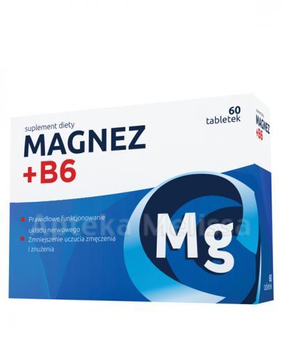 MAGNEZ + B6 - 60 tabl. Data ważności 2021.10.31 - Apteka internetowa Melissa