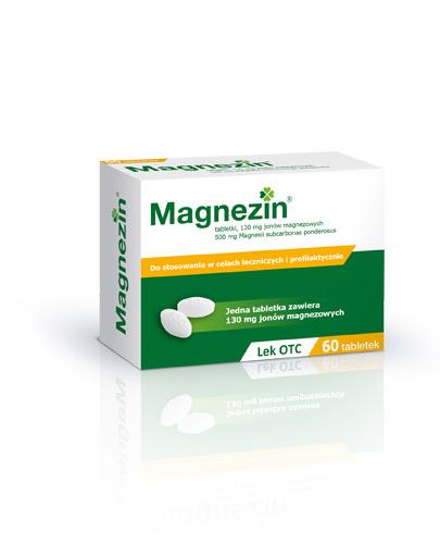 MAGNEZIN 500 mg - 60 tabl. - Apteka internetowa Melissa