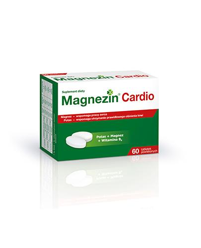 MAGNEZIN CARDIO - 60 tabl. - Apteka internetowa Melissa