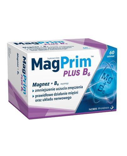 MagPrim Plus B6 - 60 tabl. - Zmęczenie i stres  Data ważności 2021.09.30 - Apteka internetowa Melissa