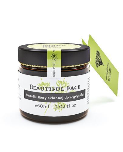 MAKE ME BIO BEAUTIFUL FACE Krem dla skóry skłonnej do wyprysków - 60 ml - Apteka internetowa Melissa