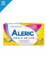 ALERIC DESLO ACTIVE 2,5 mg - 10 tabl. - Apteka internetowa Melissa