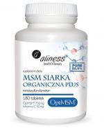 ALINESS MSM Siarka organiczna Plus - 180 tabl. - Apteka internetowa Melissa
