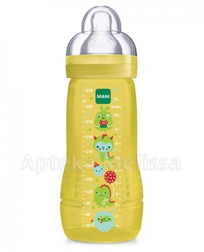 MAM Butelka baby bottle MONSTER 330 ml - 1 szt.