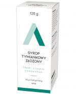 AMARA Syrop tymiankowy złożony - 125 g - Apteka internetowa Melissa