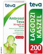 AMBROSOL TEVA Syrop 30 mg/5ml Lek na kaszel - 200 ml - cena, opinie, ulotka