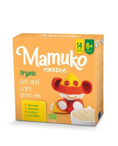 MAMUKO Kaszka z owsa i kukurydzy 6m+ - 240 g - cena, właściwości, opinie  - Drogeria Melissa