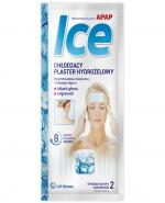 APAP ICE Chłodzące plastry żelowe - 2 szt. - Apteka internetowa Melissa