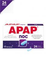 APAP NOC - 24 tabl. Lek przeciwbólowy - cena, opinie, wskazania