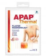 APAP THERMAL Plaster rozgrzewający - 1 szt. - cena, opinie, stosowanie