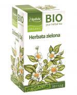 APOTHEKE BIO Herbata zielona - 20 sasz. - Apteka internetowa Melissa