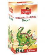 APOTHEKE BIO Herbatka dla dzieci koper - 20 sasz. - Apteka internetowa Melissa