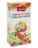 APOTHEKE BIO Herbatka dla dzieci na odporność od 9 miesiąca - 20 szt. - Apteka internetowa Melissa