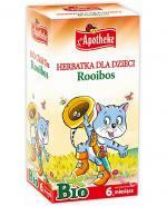 APOTHEKE BIO Herbatka dla dzieci rooibos - 20 sasz.