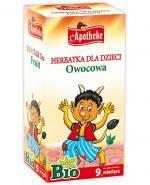 APOTHEKE BIO Herbatka dla dzieci owocowa - 20 sasz. - Apteka internetowa Melissa