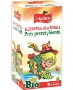 APOTHEKE BIO Herbatka dla dzieci przy przeziębieniu - 20 sasz. - Apteka internetowa Melissa