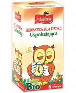 APOTHEKE BIO Herbatka dla dzieci uspokajająca - 20 sasz. - Apteka internetowa Melissa