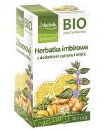 APOTHEKE BIO Herbatka imbir z cytryną i miętą - 20 sasz.