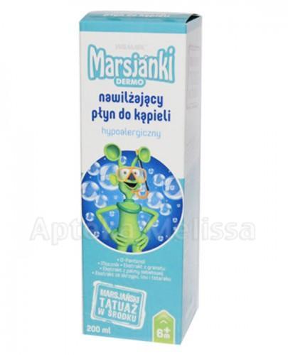 MARSJANKI DERMO Nawilżający płyn do kąpieli dla dzieci - 200 ml - Apteka internetowa Melissa