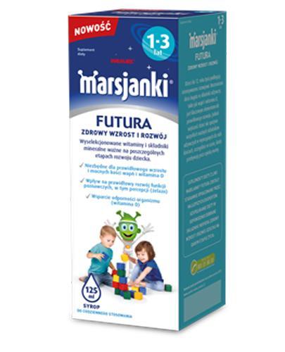MARSJANKI FUTURA Syrop 1-3 lat - 125 ml - Drogeria Melissa