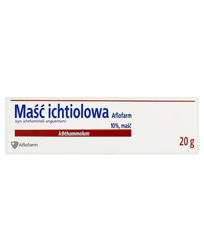 MAŚĆ ICHTIOLOWA - 20 g - Apteka internetowa Melissa