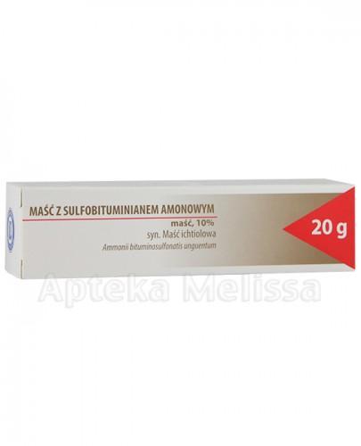 HASCO-LEK Maść z sulfobituminianem amonowym - 20 g (Maść ichtiolowa) - Apteka internetowa Melissa